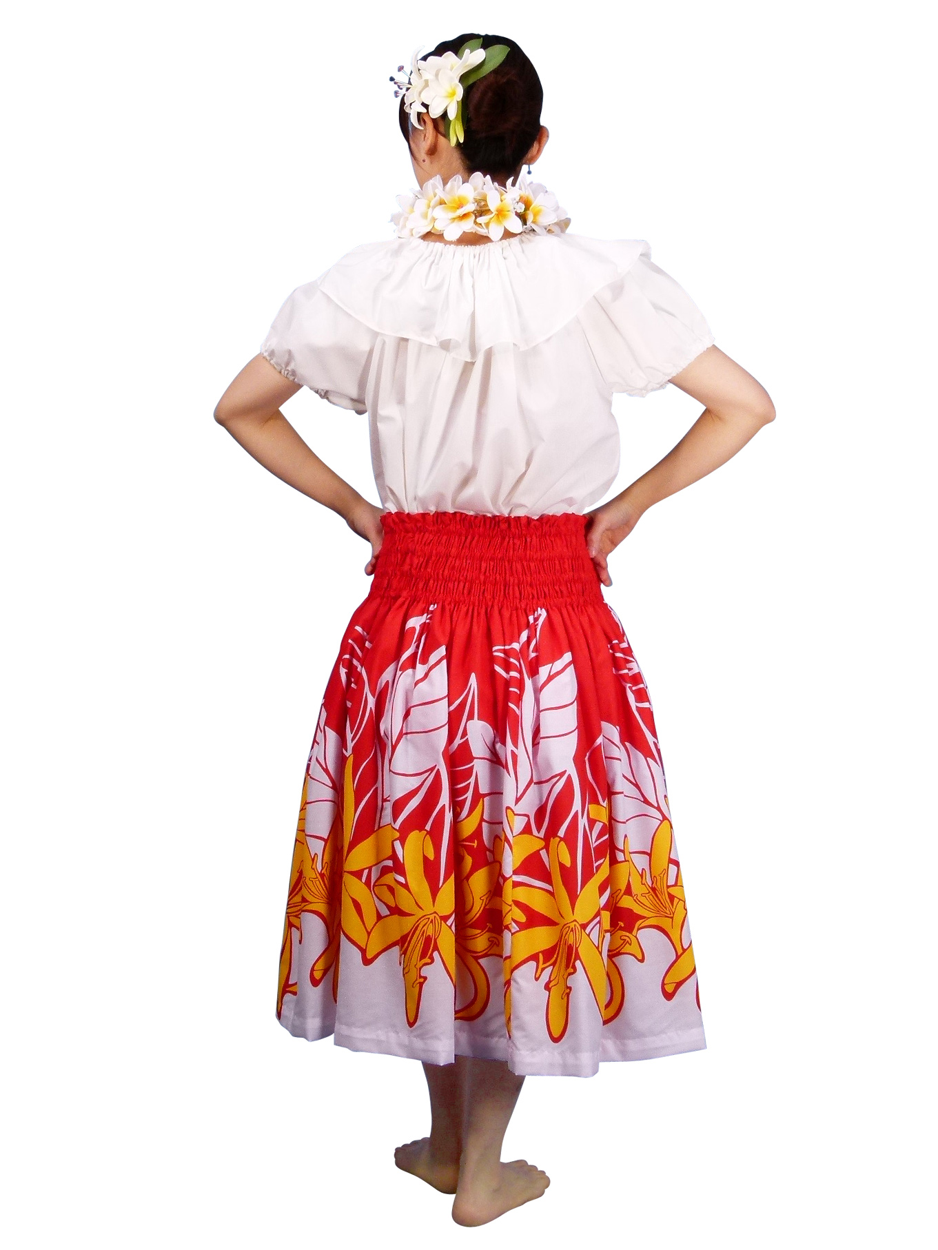 how to make a pa u skirt