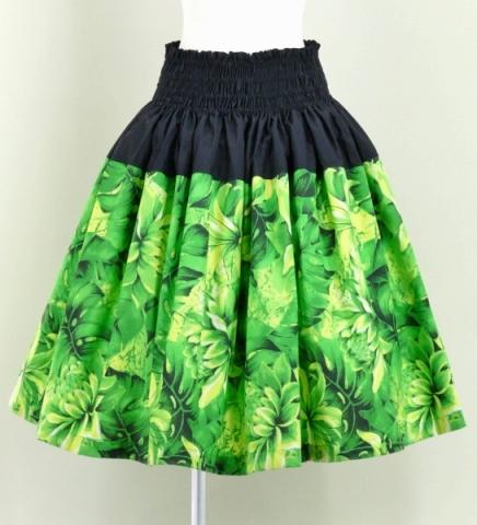 Hula pa/'u skirt light green