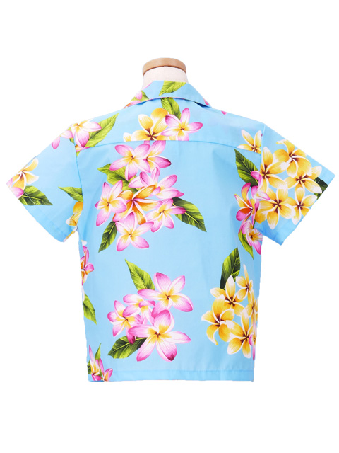 Hawaiian Shirt Girls Blue Gc103bl Hulaohana