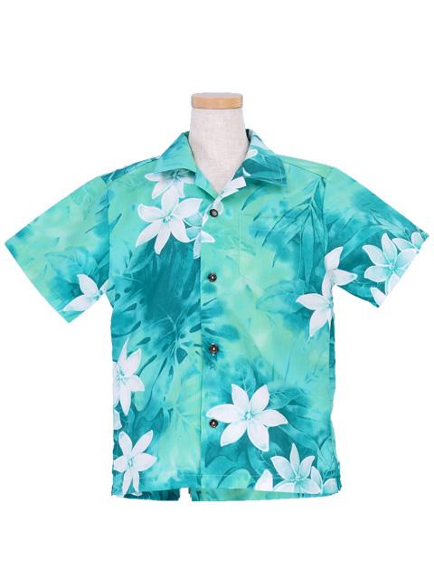 72c792227 Hawaiian Shirt Boys / Green / Gc73g-hulaohana