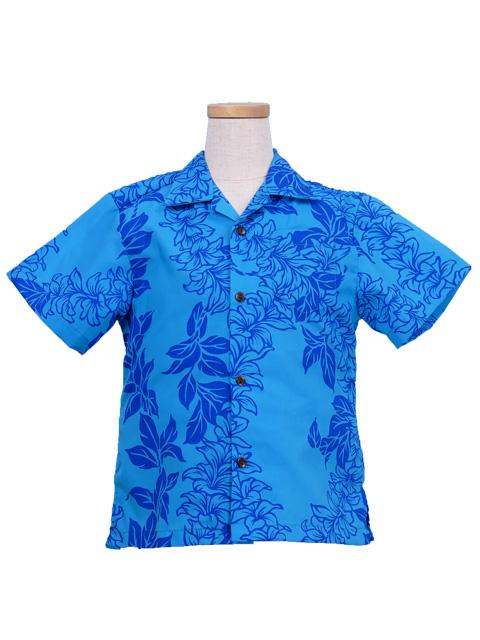 0e5a5cf56 Hawaiian Shirt Boys / Blue / Gc86bl-hulaohana