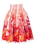 Hula Pa'u Skirt with Tropical Heliconia/ Red /G2318