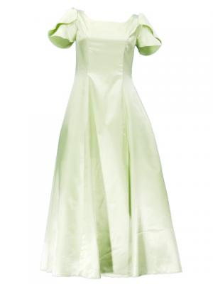 Hula Tulip Sleeve Dress / Light Green / J2408lgr