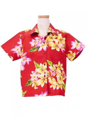 Hawaiian Shirt Girls / Red / Gc103r