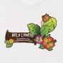 Hula Original Name Print T-shirt / Loco Girl / White / OT004w